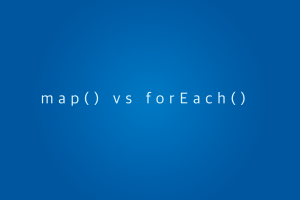 difference-between-foreach-and-map-in-javascript